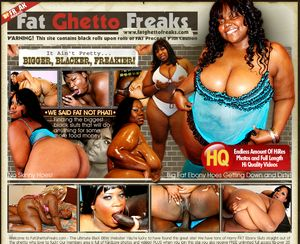 Fat Ghetto Freaks - It Ain't Pretty... Bigger, Blacker, Freakier!