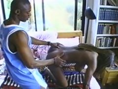 Explicit black on black lesbian sex