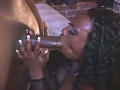 Black BBW in porn ebony films