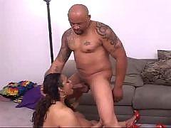 Lusty Ebony BBW in ebony porn films