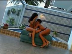 A couple cunt lapping cuties get each other off