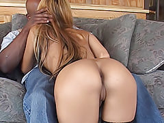 Tyra Banxxx has never had her holes filled up this deep like she does here in this black pussy fucking video