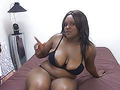 Ebony BBW is a girl everyone wants to fuck